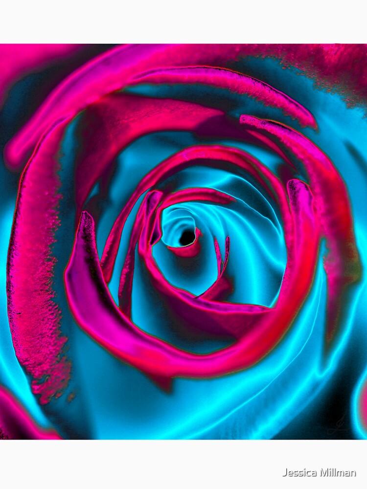 Velvet psychedelia - Rose design by zyonchilde