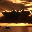 Beau Vallon Bay Sunset by Gyuri Nagy