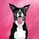 Great Dane Pitbull by ragtagart