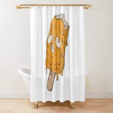 Screamsicle Shower Curtain