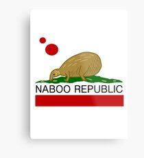Naboo Republic Metal Print