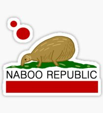 Naboo Republic Sticker