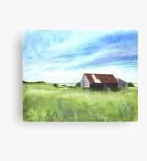 Wrabness Barn Canvas Print