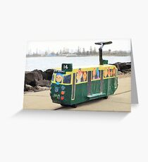 The Tram to St Kilda Greeting Card