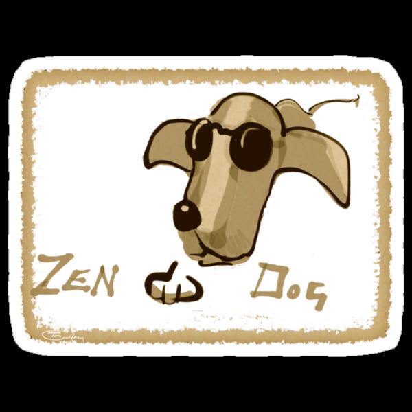 Zen Dog by Tom Godfrey