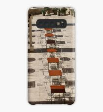 Sun and Shadow, The Getty Center, Los Angeles California Case/Skin for Samsung Galaxy