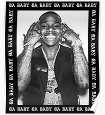 Dababy Shirt Dababy Hoody DAbaby Merch Fan ARt & Gear Poster