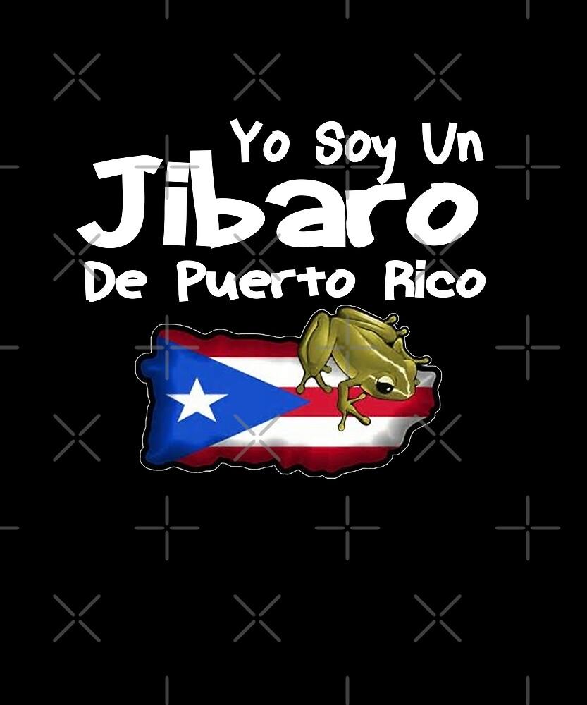 Yo Soy Un Jibaro De Puerto Rico Design by Michael Branco