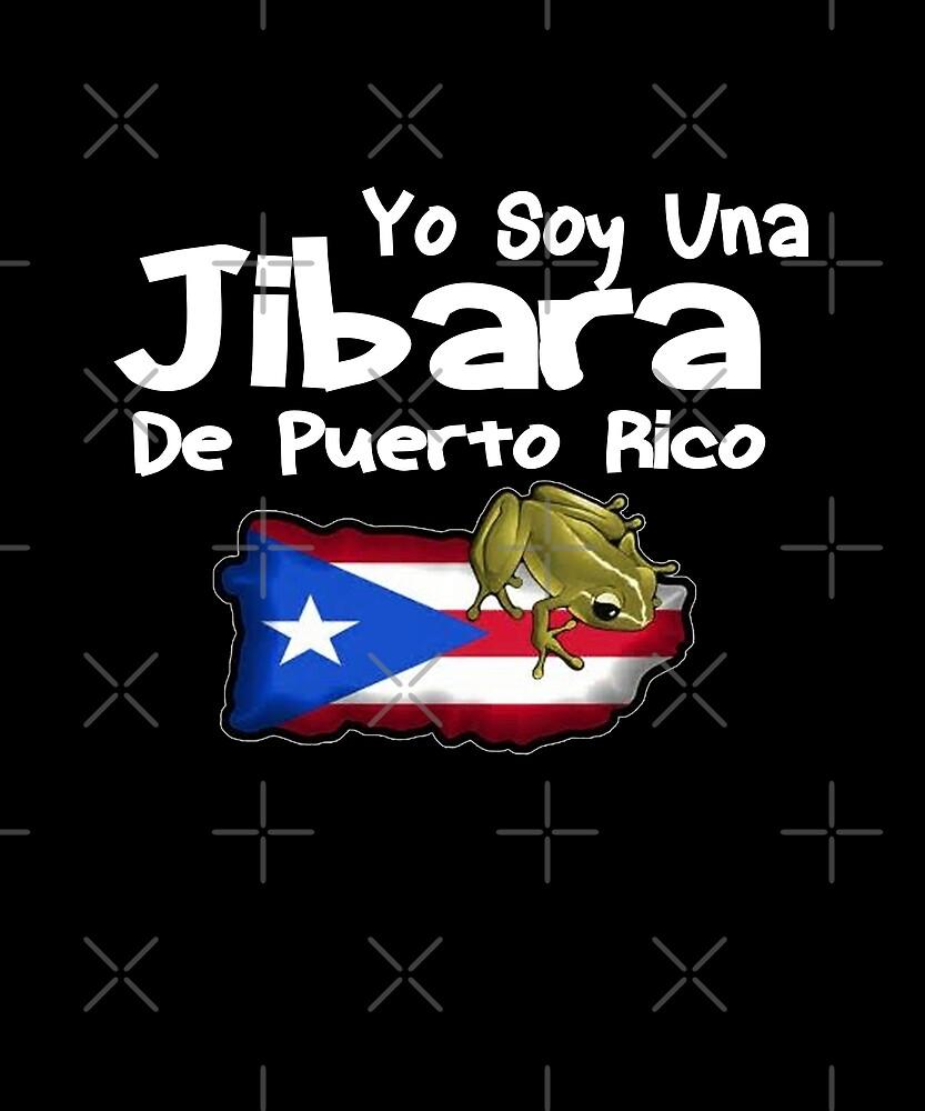 Yo Soy Una Jibara De Puerto Rico Design by Michael Branco