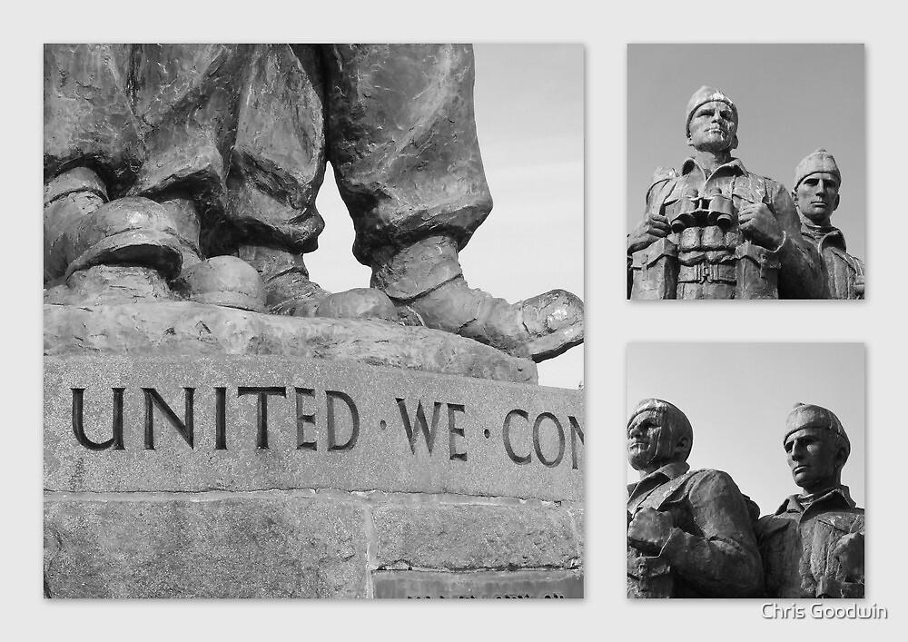 Standing Proud - 2nd World War Commando Memorial, Scotland by Chris Goodwin