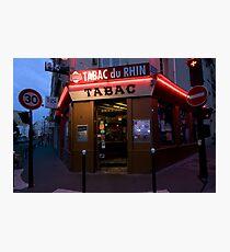 France - Paris 75019 Photographic Print