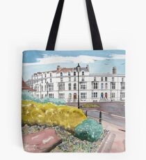 """An Evening Stroll"" - Burnham-on-Sea, Somerset Tote Bag"