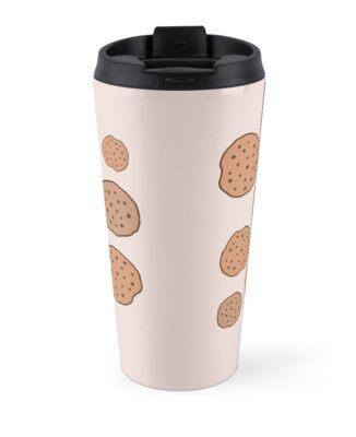 "Cute Mugs Tumblr cute tumblr cookie pattern"" travel mugsdeathspell | redbubble"