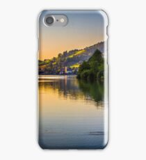 Alpine See Sunset  iPhone Case/Skin