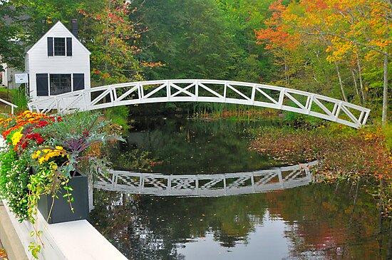 Bridge, Sommesville, Maine by fauselr