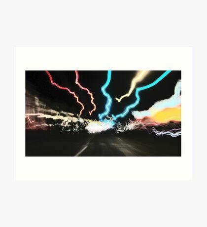 City Speed Art Print