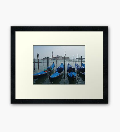 Venice by the Canal Framed Print