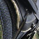 Black western saddle by AbsintheFairy