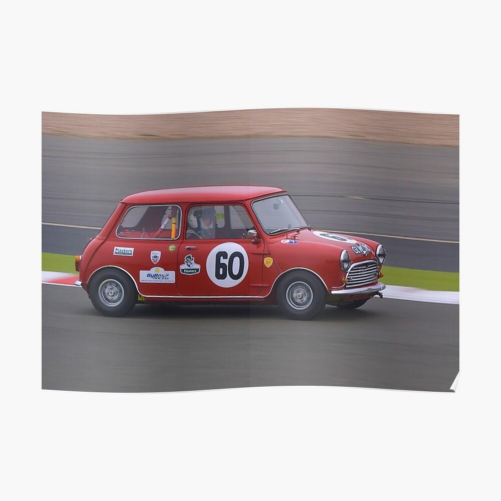 1965 Morris Mini Cooper S Poster