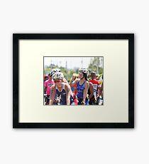 70.3 IronMan Philippines 2015 Framed Print