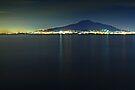 Vesuvius, Bay of Naples, Italy. by David Lewins