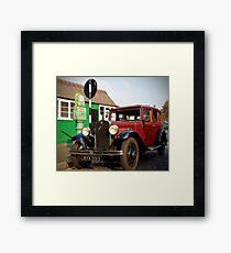 1935 Austin Ruby Saloon Framed Print