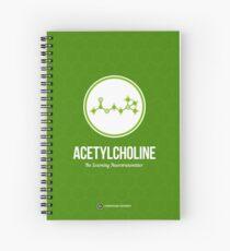 Neurotransmitter Series: Acetylcholine Spiral Notebook