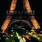 Paris Night by Mick Burkey