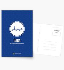 Neurotransmitter-Serie: GABA Postkarten