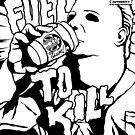 Fuel to Kill (B&W) by designedbydeath