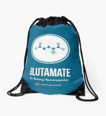 Neurotransmitter Series: Glutamate Drawstring Bag