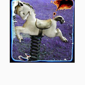 purple ponies by schadenfreude