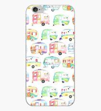 Retro Caravans iPhone Case