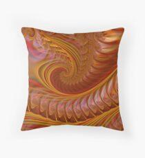 Autumn Waves Throw Pillow