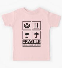 Fragile Sign Kids Tee