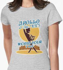 Camiseta entallada para mujer Apollo & the Muses World Tour
