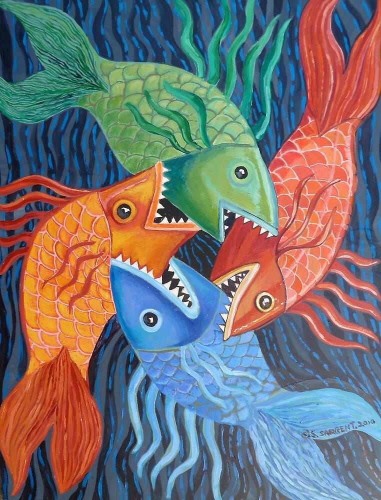 Feeding Frenzy by Sally Sargent