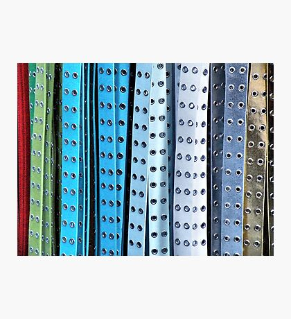 Belts Photographic Print