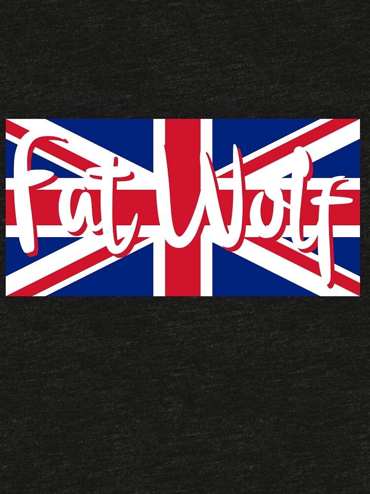 Fat Wolf Union Jack by danbadgeruk