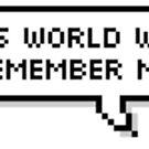 Diese Welt erinnert sich an mich von Holly Coleman