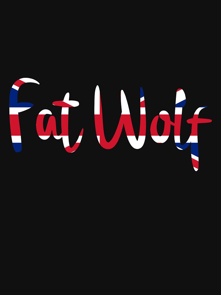 Fat Wolf Logo (Union Jack) by danbadgeruk