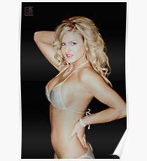 Nice Blond Girl Poster