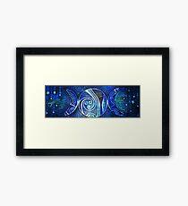 Triple Moon -Goddess Design Framed Print