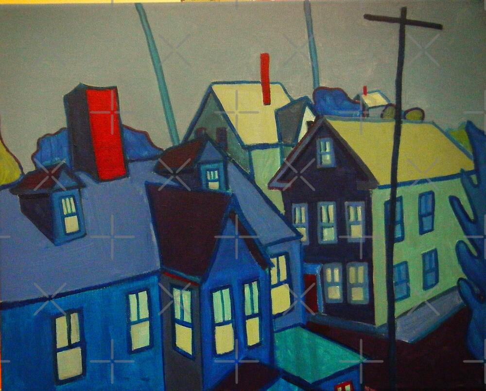 Blue Gloucester by brettonarts