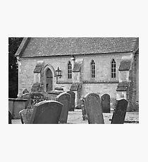 Headstones. Photographic Print
