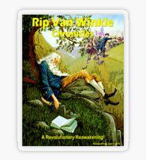 Rip Van Winkle Chronicles Transparent Sticker
