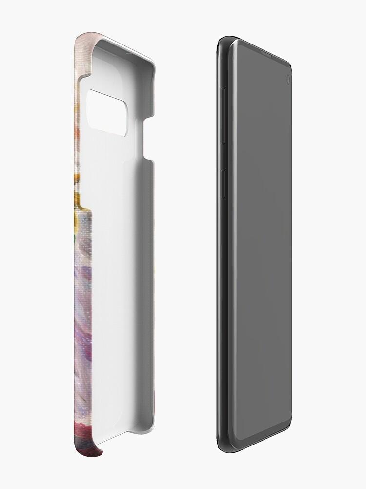 Alternate view of Black Eyed Susans Case & Skin for Samsung Galaxy