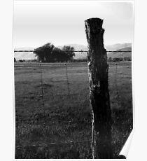 Fencepost Poster