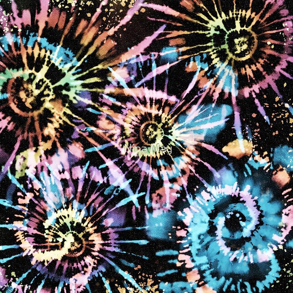 Rainbow Tie-Dye Blast by Nina May