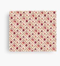 Sinterklaas inpakpapier (Dutch wrapping paper) Canvas Print